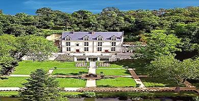 Domaine Royal de Château Gaillard, les Jardins du Roi