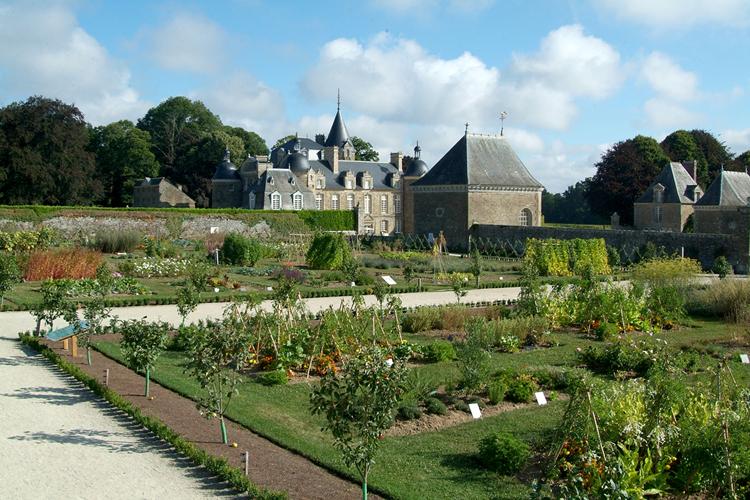 Ch teau et jardins de la bourbansais visites animations ille et vilaine bretagne - Jardins de bretagne a visiter ...