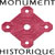 Listed as French Monuments Historiques